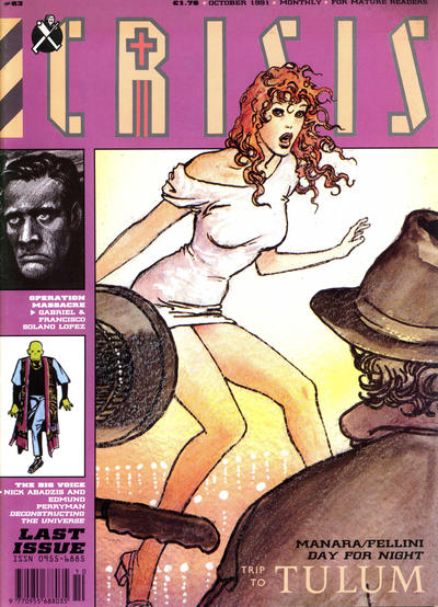 Cover for Crisis (Fleetway Publications, 1988 series) #63