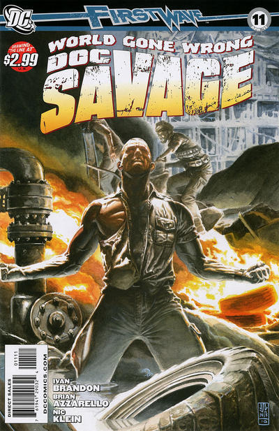 Cover for Doc Savage (DC, 2010 series) #11