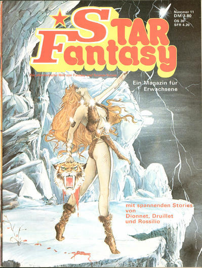 Cover for Star Fantasy (Interman, 1978 series) #11