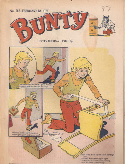 Cover for Bunty (D.C. Thomson, 1958 series) #787