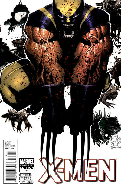 Cover for X-Men (Marvel, 2010 series) #8 [Bachalo Cover]