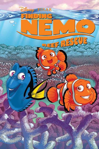Cover for Finding Nemo: Reef Rescue (Boom! Studios, 2009 series)