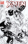 Cover Thumbnail for X-Men (2010 series) #7 [Variant Edition - Black-and-White]