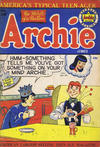 Cover for Archie Comics (Bell Features, 1948 series) #39