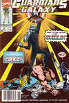 Cover for Guardians of the Galaxy (Marvel, 1990 series) #6 [Newsstand]