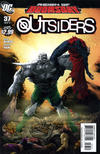 Cover for The Outsiders (DC, 2009 series) #37