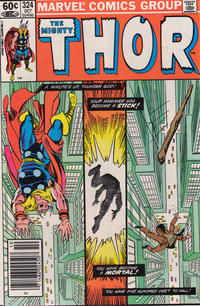 Cover Thumbnail for Thor (Marvel, 1966 series) #324 [Newsstand]