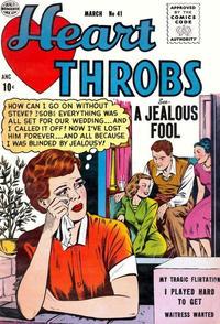 Cover Thumbnail for Heart Throbs (Quality Comics, 1949 series) #41