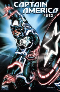 Cover Thumbnail for Captain America (Marvel, 2005 series) #612 [Tron Variant]