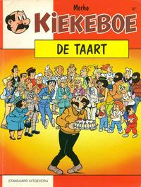 Cover Thumbnail for Kiekeboe (Standaard Uitgeverij, 1990 series) #47 - De taart