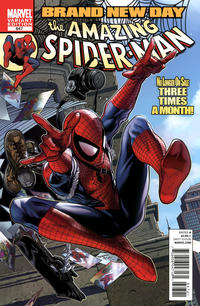 Cover Thumbnail for The Amazing Spider-Man (Marvel, 1999 series) #647 [McNiven]