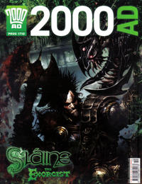 Cover Thumbnail for 2000 AD (Rebellion, 2001 series) #1710