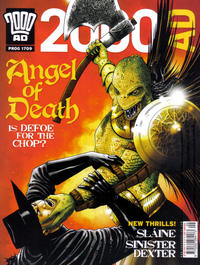 Cover Thumbnail for 2000 AD (Rebellion, 2001 series) #1709