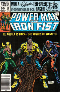 Cover Thumbnail for Power Man and Iron Fist (Marvel, 1981 series) #78 [newsstand]