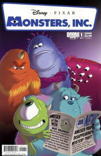 Cover Thumbnail for Monsters, Inc.: Laugh Factory (Boom! Studios, 2009 series) #1