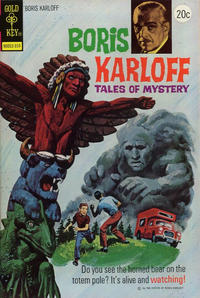 Cover Thumbnail for Boris Karloff Tales of Mystery (Western, 1963 series) #50