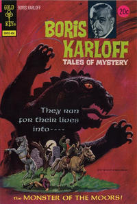 Cover Thumbnail for Boris Karloff Tales of Mystery (Western, 1963 series) #54