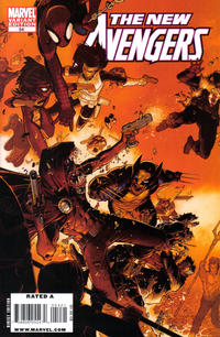 Cover Thumbnail for New Avengers (Marvel, 2005 series) #54 [Chris Bachalo Variant Cover]