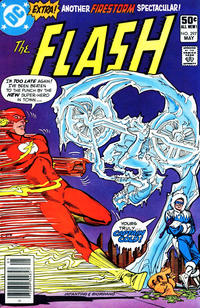 Cover Thumbnail for The Flash (DC, 1959 series) #297 [Newsstand]