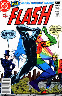 Cover Thumbnail for The Flash (DC, 1959 series) #299 [Newsstand]