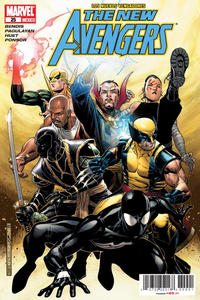 Cover Thumbnail for Los Nuevos Vengadores, the New Avengers (Editorial Televisa, 2006 series) #25