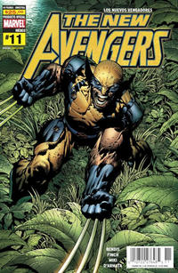 Cover Thumbnail for Los Nuevos Vengadores, the New Avengers (Editorial Televisa, 2006 series) #11