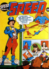 Cover Thumbnail for Speed Comics (Harvey, 1941 series) #25