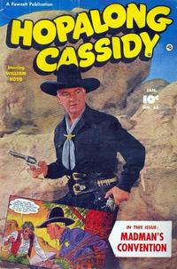 Cover for Hopalong Cassidy (Fawcett, 1946 series) #63
