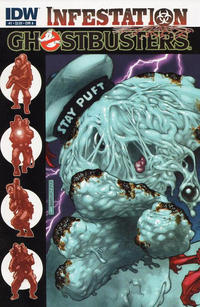 Cover Thumbnail for Ghostbusters: Infestation (IDW, 2011 series) #1 [Cover A]