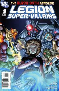 Cover Thumbnail for Legion of Super-Villains (DC, 2011 series) #1