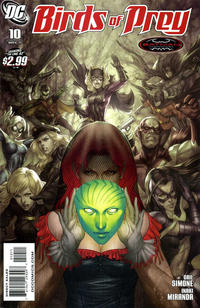 Cover Thumbnail for Birds of Prey (DC, 2010 series) #10