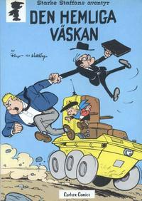 Cover Thumbnail for Starke Staffans äventyr (Carlsen/if [SE], 1977 series) #3 - Den hemliga väskan