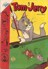Cover Thumbnail for Tom y Jerry (Editorial Novaro, 1951 series) #33