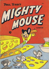 Cover Thumbnail for Mighty Mouse (St. John, 1947 series) #20 [36-pages]
