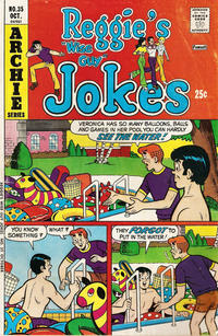 Cover Thumbnail for Reggie's Wise Guy Jokes (Archie, 1968 series) #35