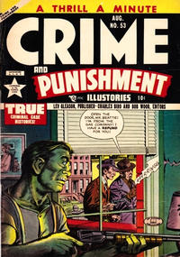 Cover Thumbnail for Crime and Punishment (Lev Gleason, 1948 series) #53