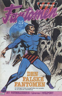Cover Thumbnail for Fantomen (Semic, 1963 series) #8/1978