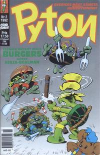 Cover Thumbnail for Pyton (Atlantic Förlags AB, 1990 series) #2/1992