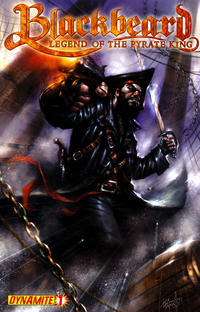 Cover Thumbnail for Blackbeard: Legend of the Pyrate King (Dynamite Entertainment, 2009 series) #1 [Cover B - Lucio Parrillo]