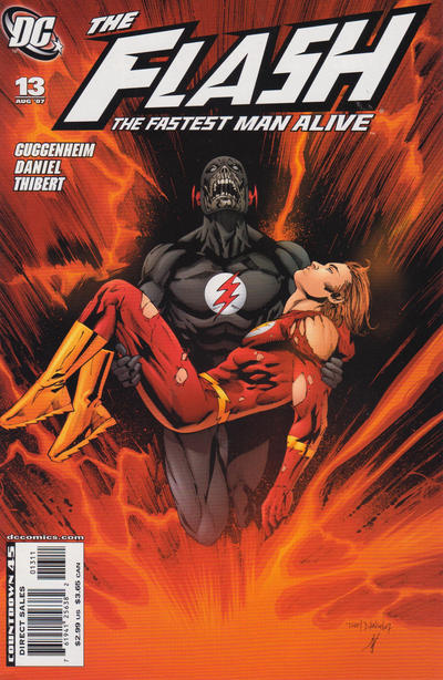 Cover for Flash: The Fastest Man Alive (DC, 2006 series) #13 [DC Nation Cover]