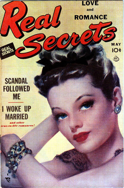 Cover for Real Secrets (Ace Magazines, 1949 series) #5