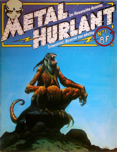 Cover for Métal Hurlant (Les Humanoïdes Associés, 1975 series) #1