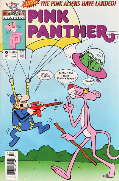 Cover for The Pink Panther (Harvey, 1993 series) #9