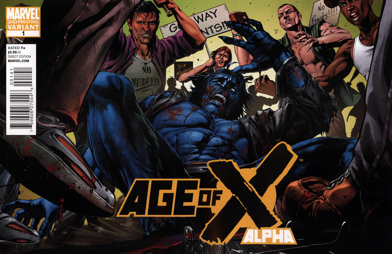 Cover for Age of X Alpha (Marvel, 2011 series) #1