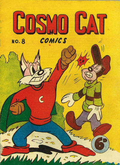 Cover for Cosmo Cat Comics (K. G. Murray, 1947 series) #8