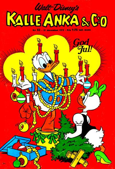 Cover for Kalle Anka & C:o (Hemmets Journal, 1957 series) #52/1972