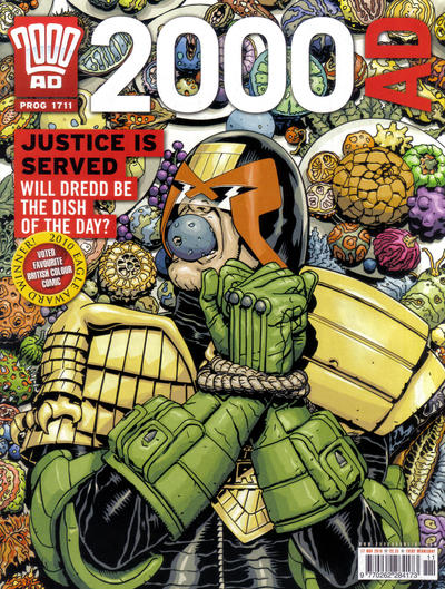 Cover for 2000 AD (Rebellion, 2001 series) #1711
