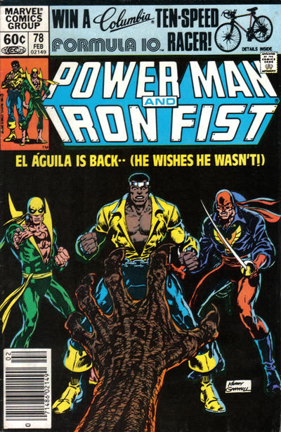 Cover for Power Man and Iron Fist (Marvel, 1981 series) #78 [direct]