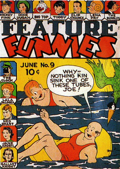 Cover for Feature Funnies (Quality Comics, 1937 series) #9