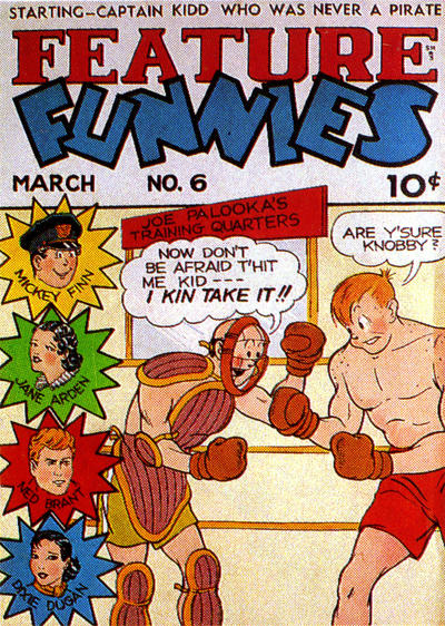 Cover for Feature Funnies (Quality Comics, 1937 series) #6